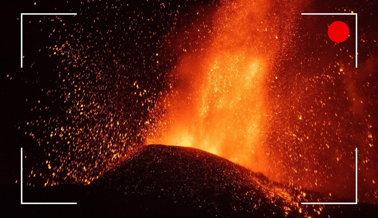 El volcán de La Palma, en directo