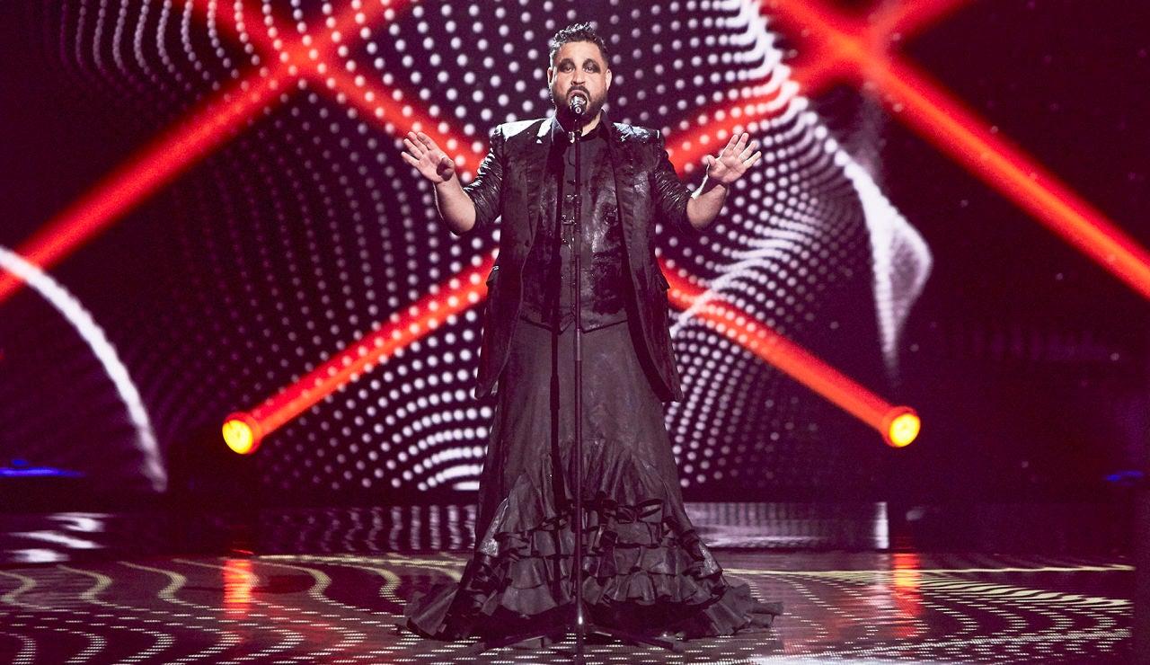 David Bastidas canta 'Se nos rompió el amor' en las Audiciones a ciegas de 'La Voz'