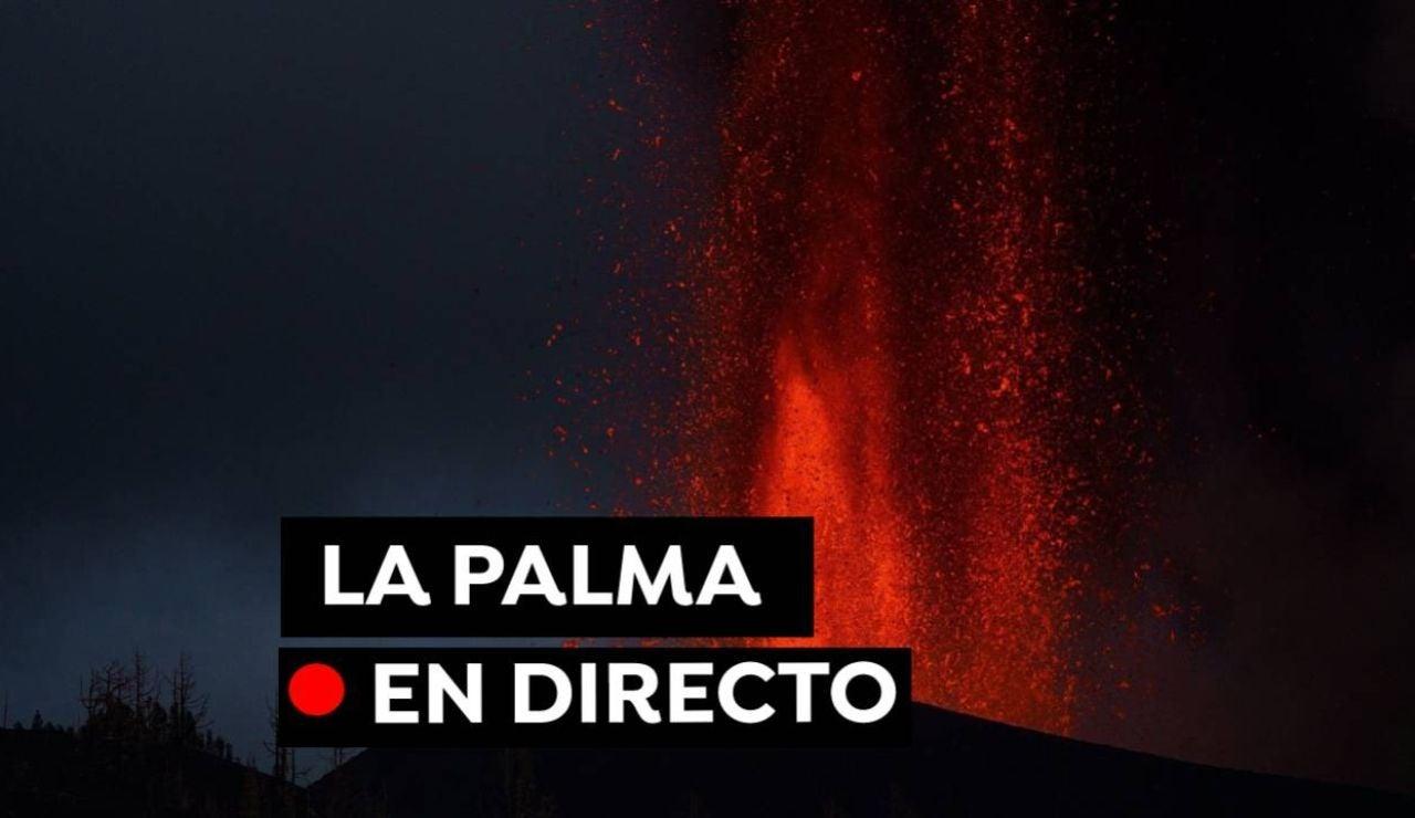 Volcán de La Palma: Nuevas erupciones, recorrido de la lava y la última hora de Cumbre Vieja