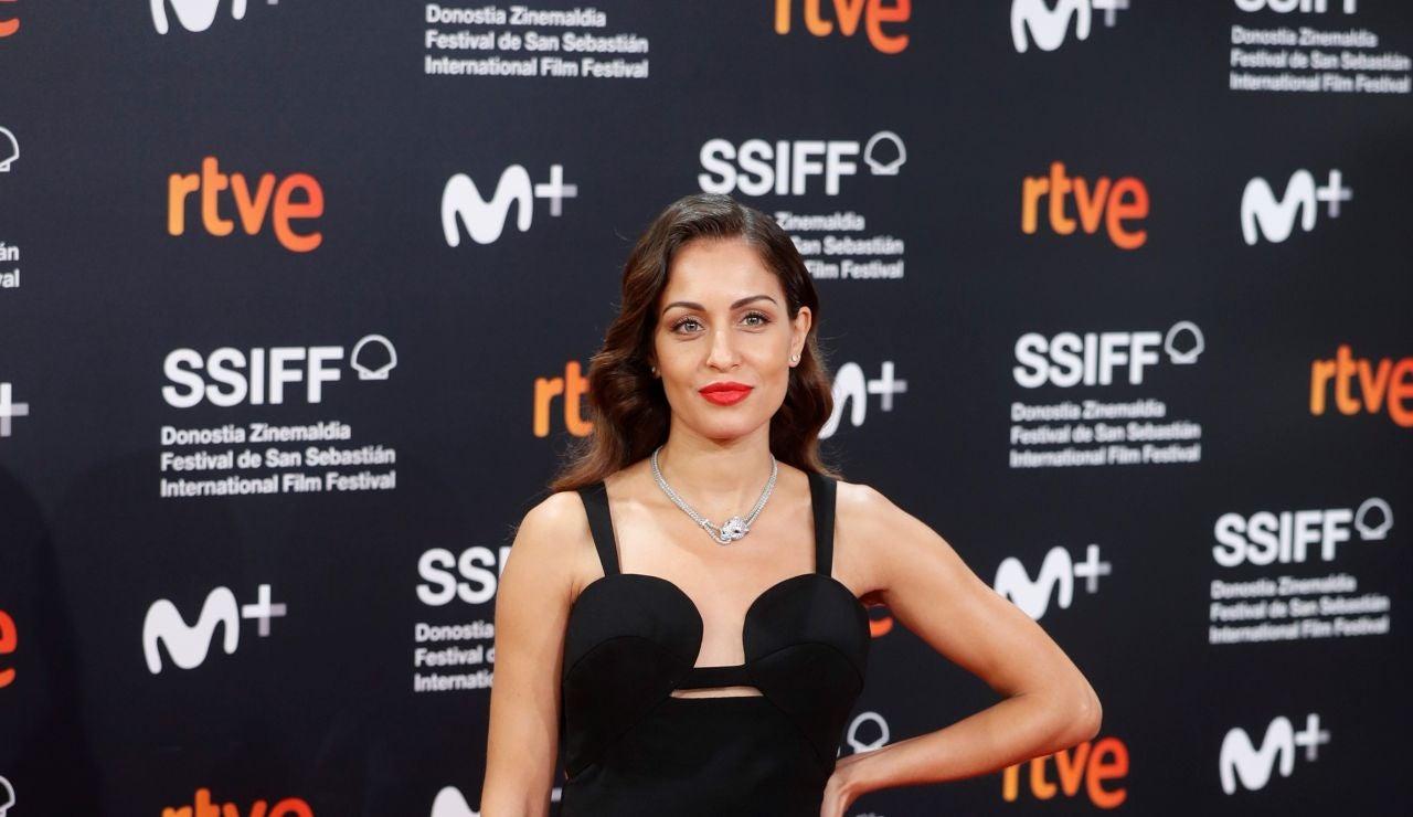Hiba Abouk en el Festival de San Sebastian