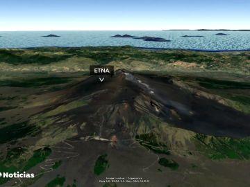 Así es vivir al lado de un volcán: el Etna y otros 20 volcanes en erupción