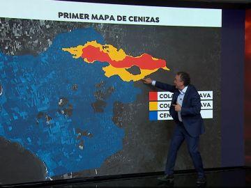 Roberto Brasero explica las coladas de lava
