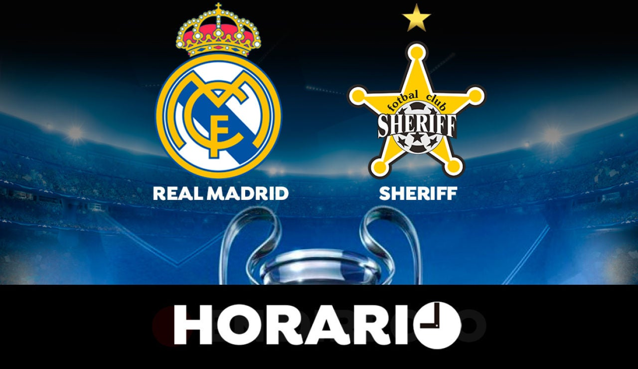 Real Madrid - Sheriff Tiraspol: Horario y dónde ver el partido de Champions League en directo