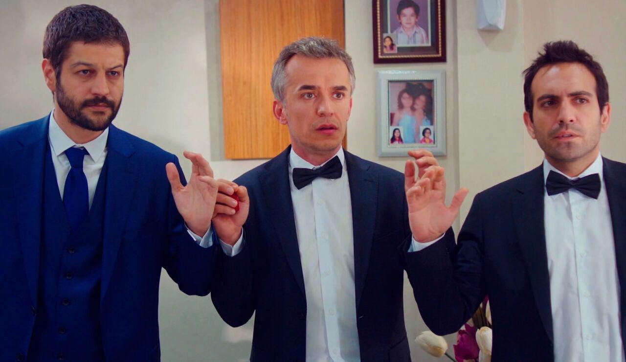 Era inevitable… ¡Demir, Ugur y Cemal se meten en problemas el día de la boda!