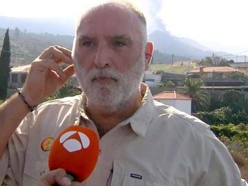 El chef José Andrés en La Palma