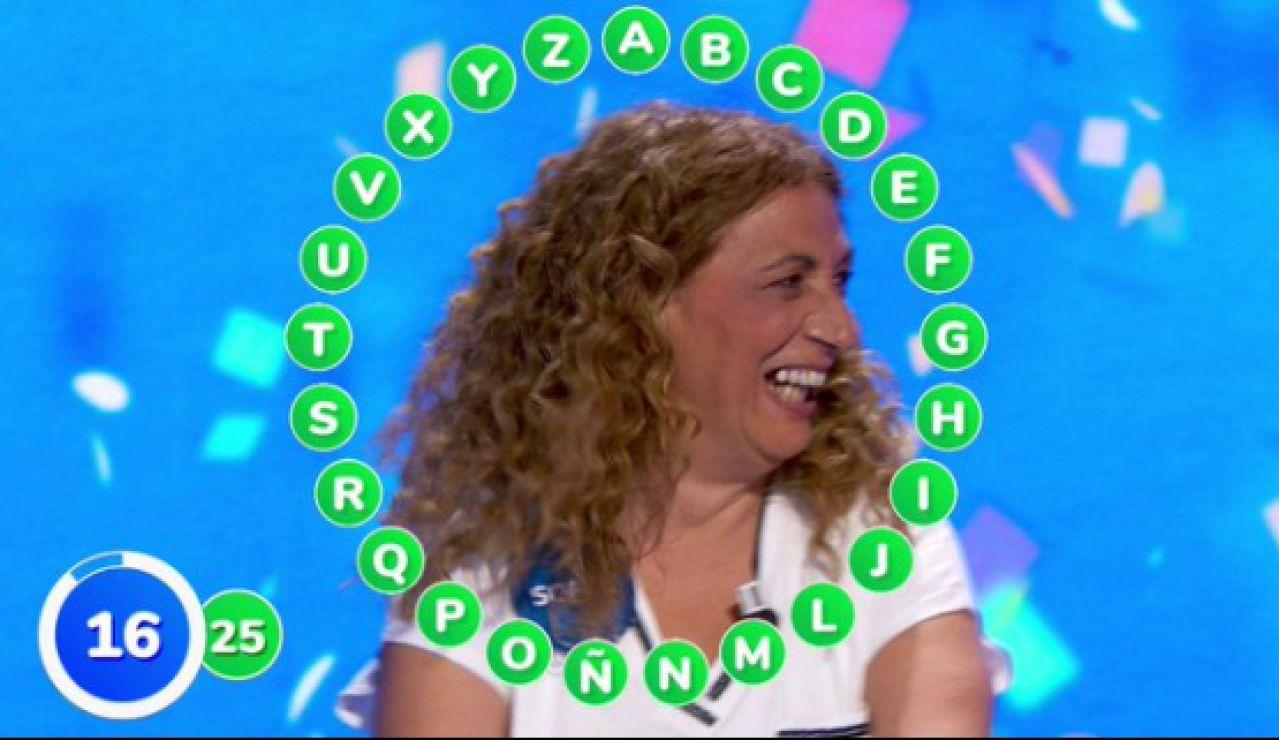 ¿Qué palabra que empieza por H ha dado el rosco a Sofía Álvarez en Pasapalabra?