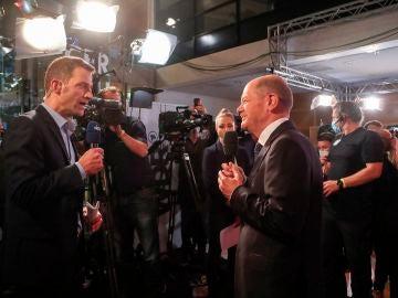 Victoria por la mínima para los socialdemócratas de Scholz frente a los conservadores en Alemania