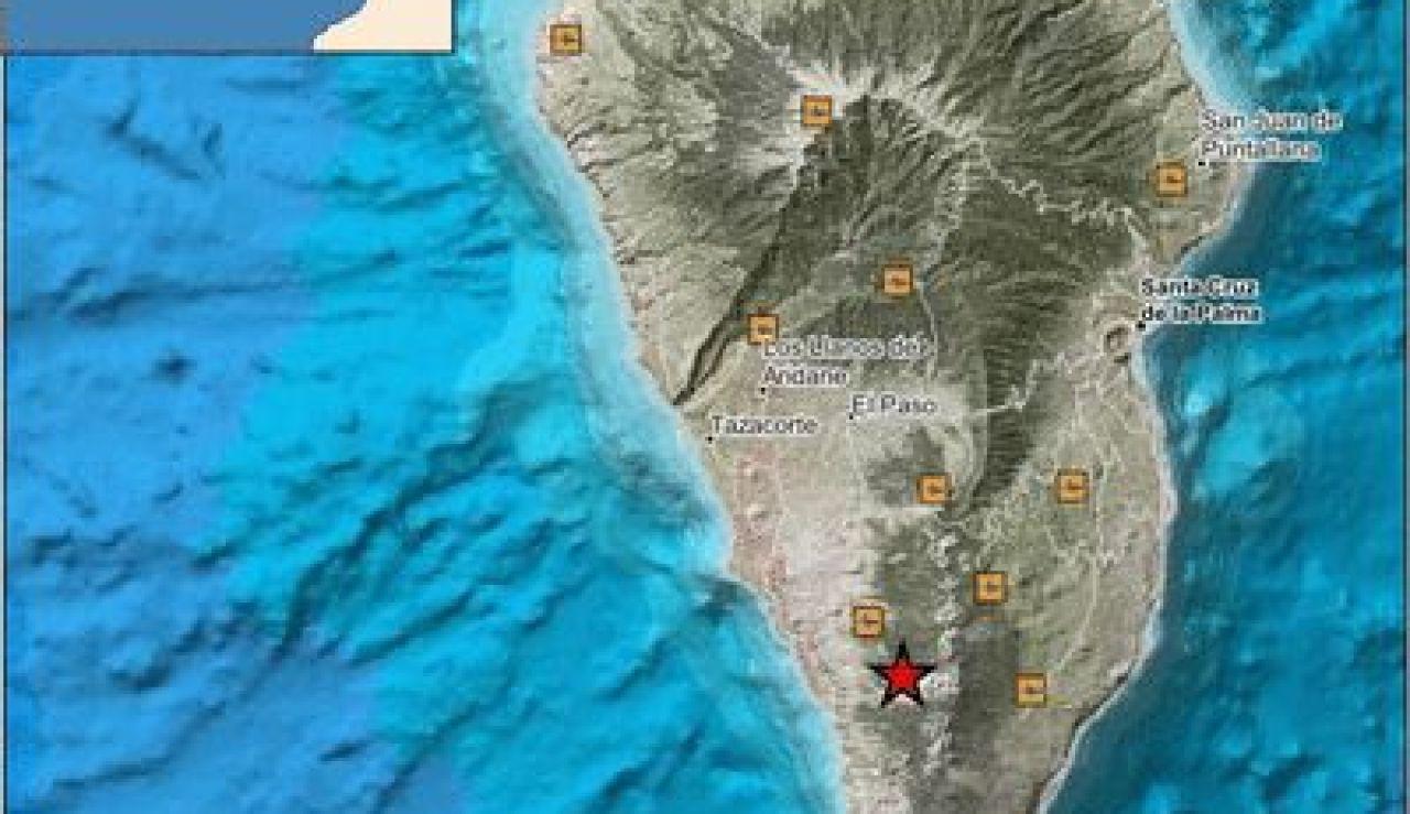 Más de una veintena de terremotos en Fuencaliente, La Palma