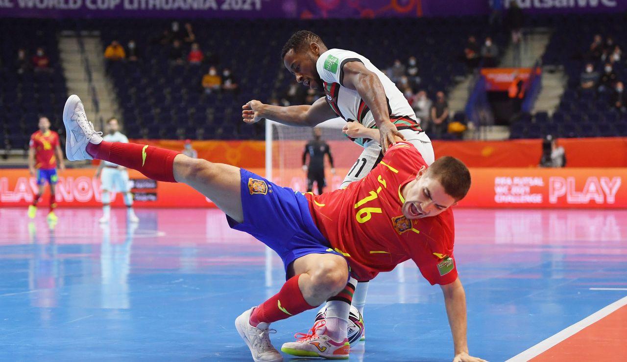 España cae eliminada ante Portugal en el Mundial de Fútbol Sala