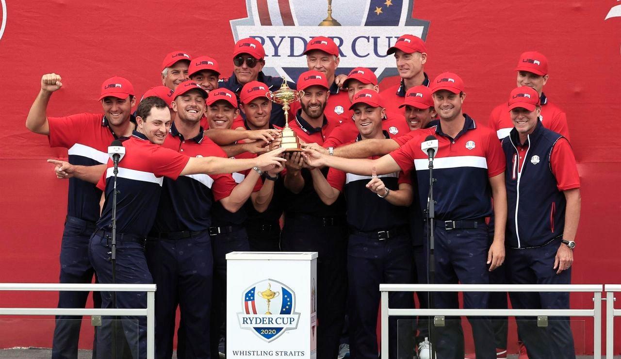 """Estados Unidos arrasa a Europa en la Ryder Cup y avisa: """"Esta es una nueva era"""""""