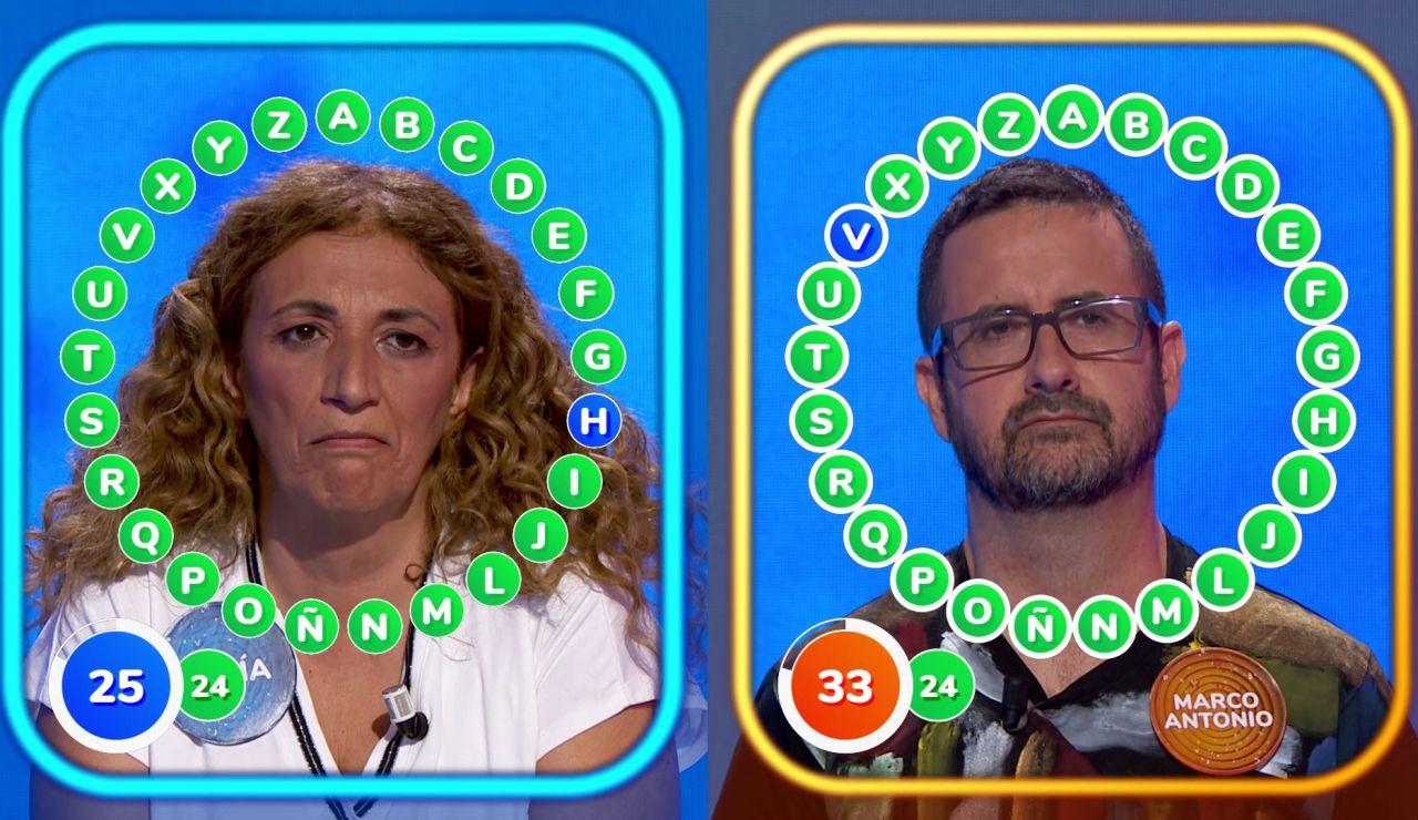 'El Rosco' completo con el que Sofía ha ganado el bote de 'Pasapalabra'