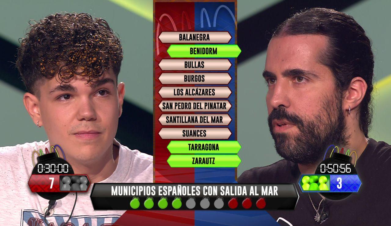 ¡In extremis! Jose consigue vencer a Héctor, de los 'Libérrimos' en una ajustada bomba estratégica