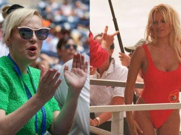 Rebel Wilson y Pamela Anderson