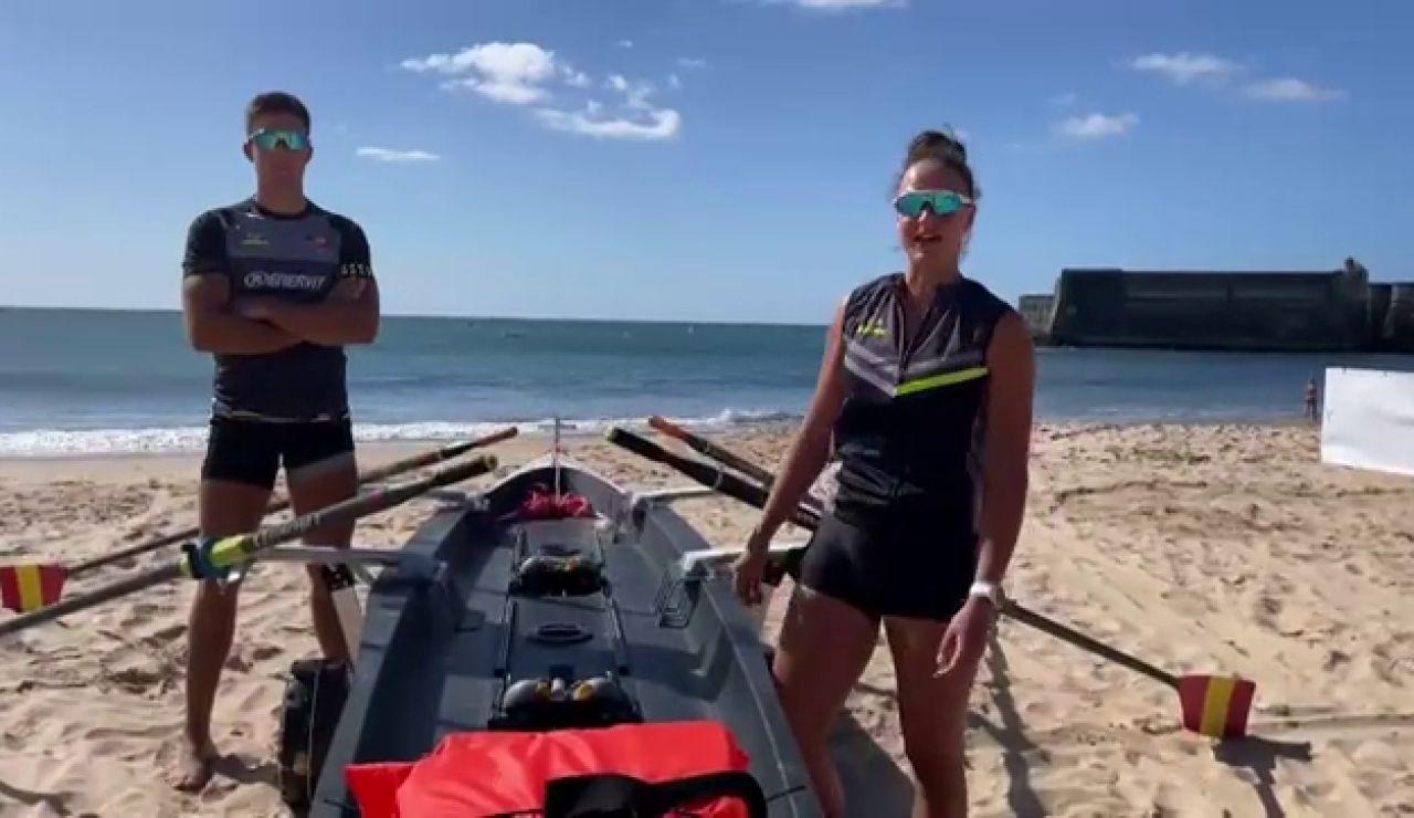 España, una potencia en el Mundial de remo de Beach Sprint con 3 medallas de oro