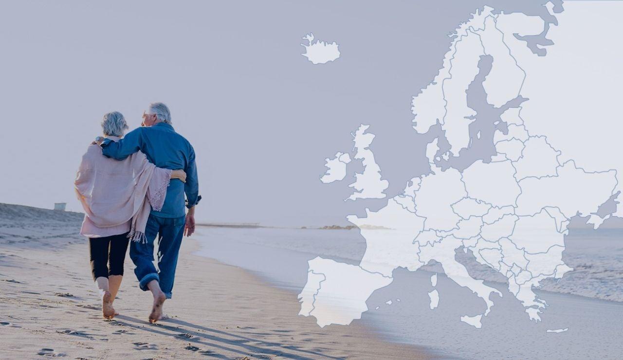 Comparativa sobre la edad de jubilación en los distintos países de Europa