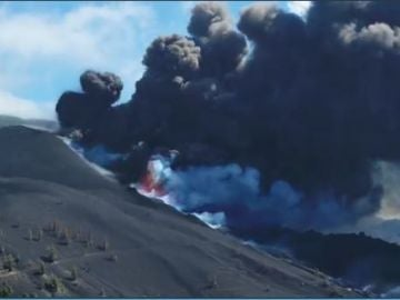 Lava volcán La Palma