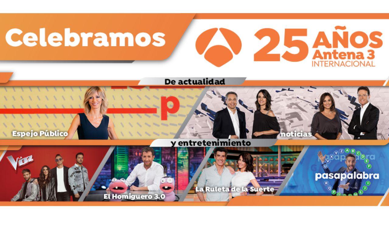 Aniversario Antena 3 Internacional