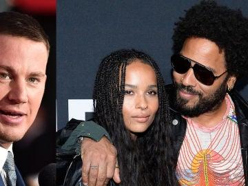Channing Tatum, Zoe y Lenny Kravitz