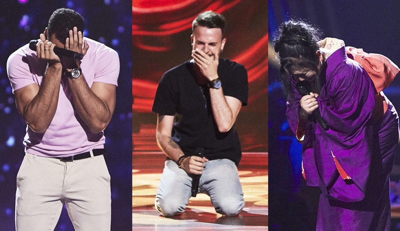 Los talents de 'La Voz' viven las terceras Audiciones a ciegas desbordados de emoción