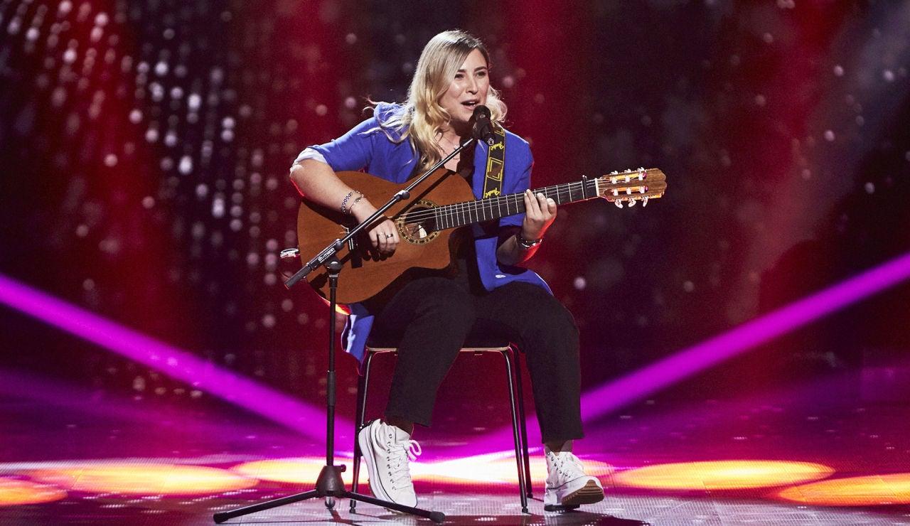 Amanda Liñán canta 'Remolino' en las Audiciones a ciegas de 'La Voz'