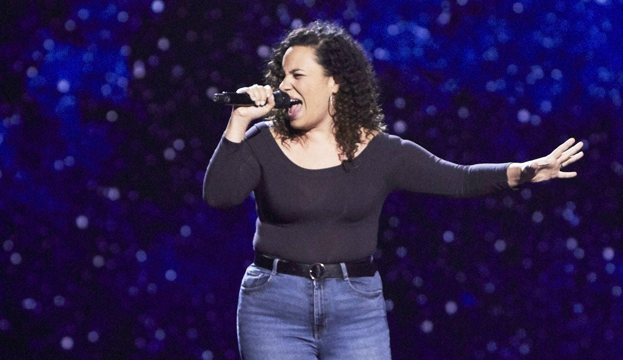 Nereida Peña canta 'Natural woman' en las Audiciones a ciegas de 'La Voz'