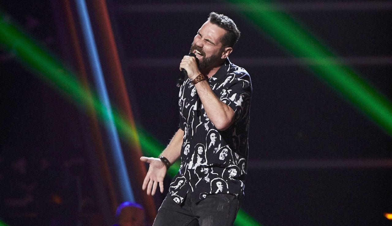 Servando Gallego canta 'En el lago' en las Audiciones a ciegas de 'La Voz'
