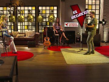 """Christian Ruiz pone el toque más íntimo con """"Before you go"""" en 'El Regreso'"""