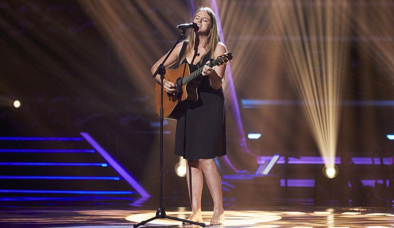 Alice Reay canta 'Piece of my heart' en las Audiciones a ciegas de 'La Voz'