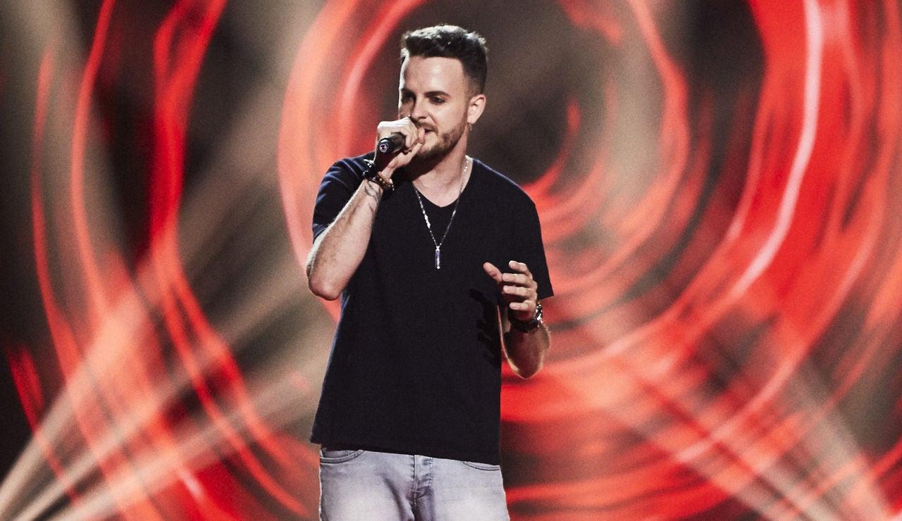 Ian García canta 'I don't wanna miss a thing' en las Audiciones a ciegas de 'La Voz'