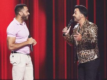 Luis Fonsi canta 'Imagíname sin ti' con Carlos Ángel Valdés en 'La Voz'
