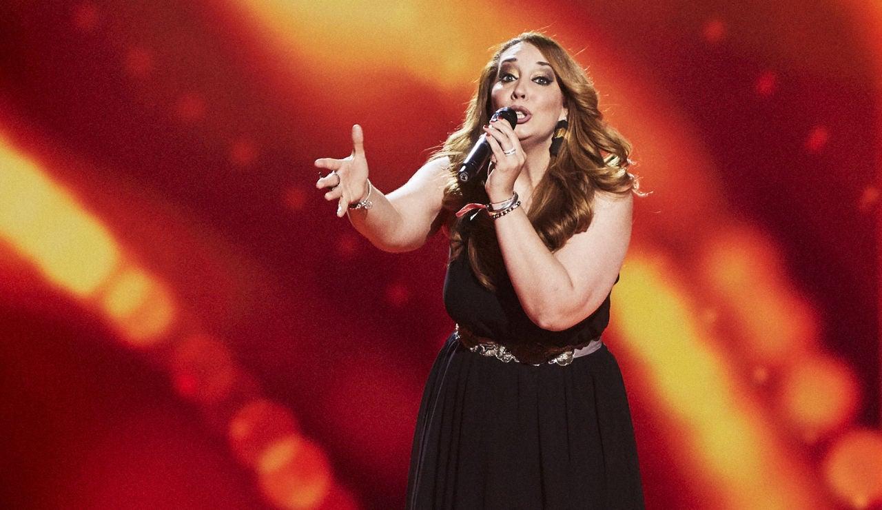 Isabel España canta 'Torre de arena' en las Audiciones a ciegas de 'La Voz'