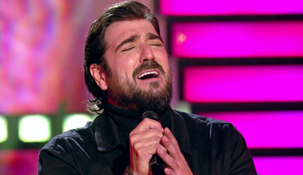 Antonio Orozco en 'Veo cómo cantas'