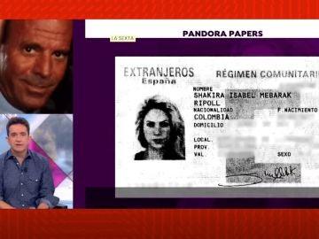 La implicación de Shakira en los Pandora Papers.