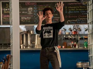 Andrew Garfield como Jonathan Larson en 'Tick, Tick… Boom!'