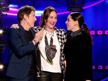 ¡Momentazo estelar de Ana Milán! Canta 'Corazón Partío' junto a Ruth Lorenzo en 'Veo cómo cantas'