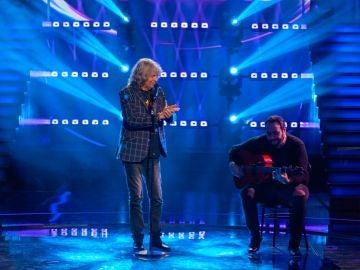 José Mercé canta 'Aire' en 'Veo cómo cantas': arte y fuerza en el escenario