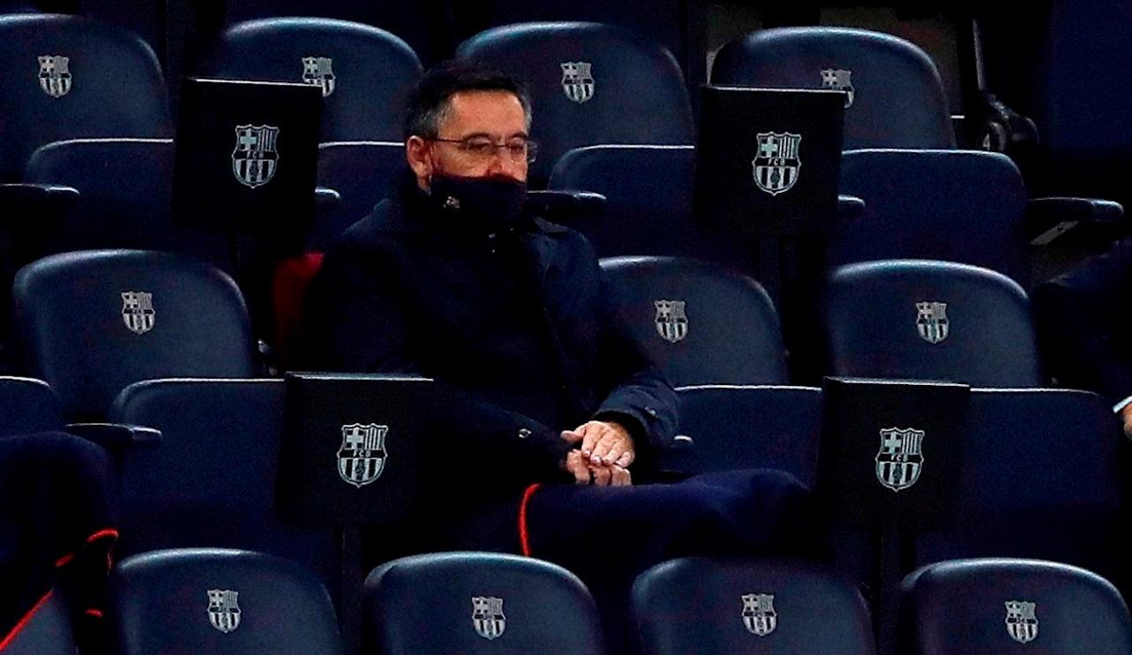 El expresidente del FC Barcelona Josep Maria Bartomeu, en una fotografía de archivo