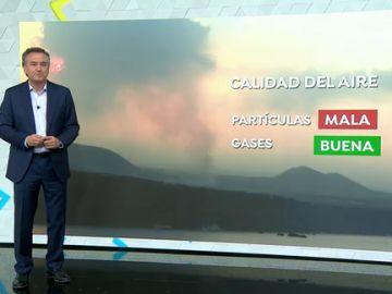 Roberto Brasero calidad del aire La Palma