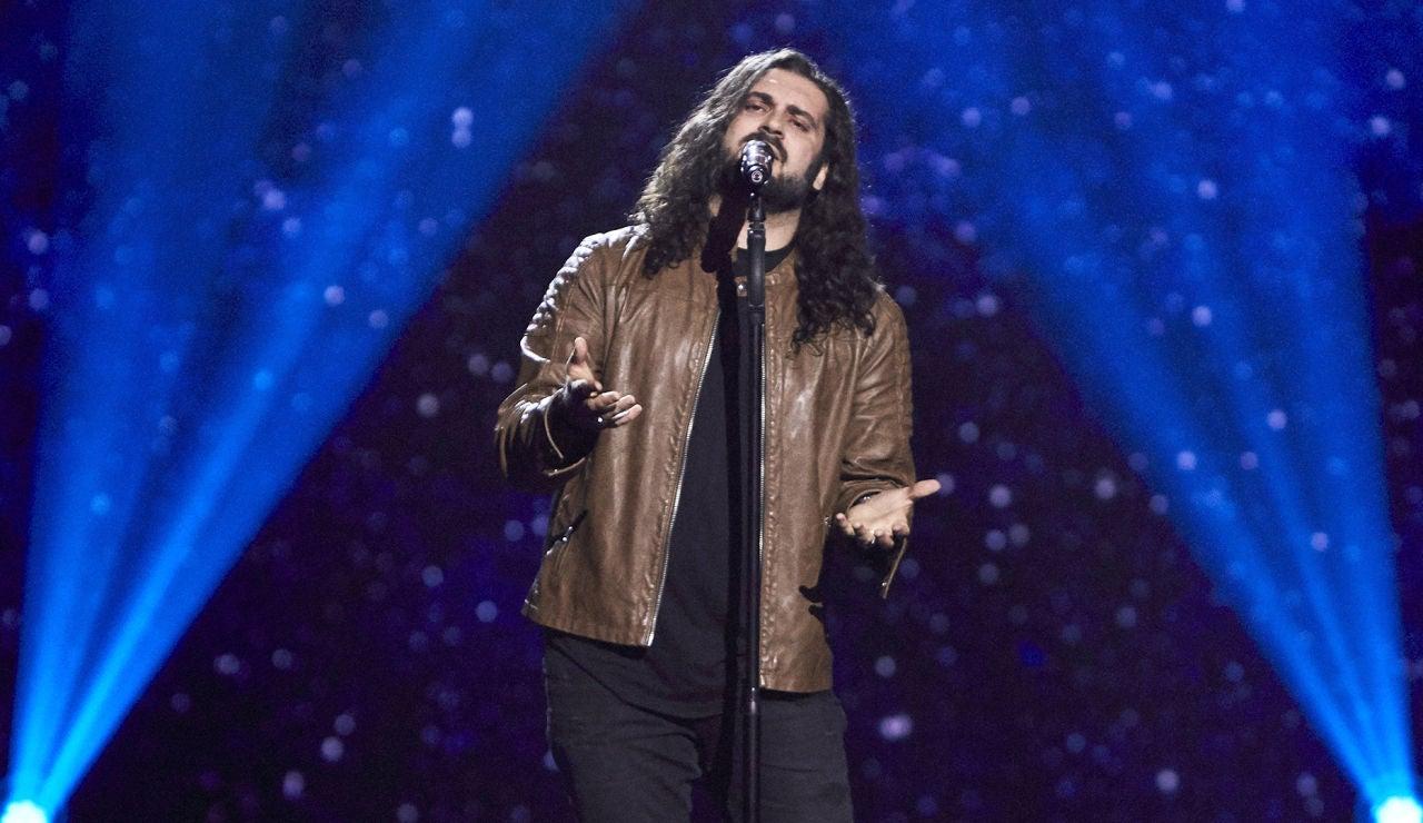 Fran Fernández canta 'Ojalá' en las Audiciones a ciegas de 'La Voz'