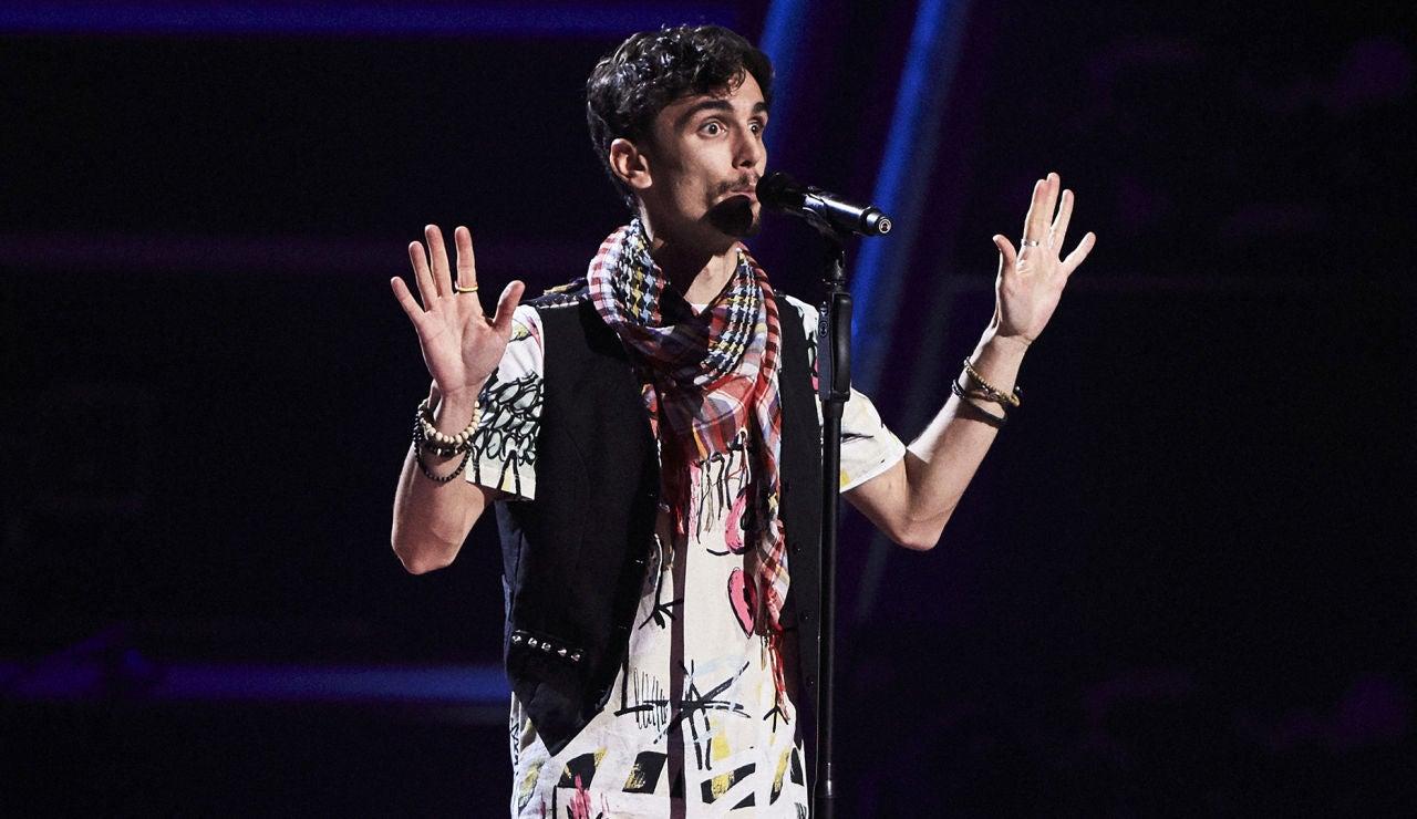 Franc González canta 'Grace Kelly' en las Audiciones a ciegas de 'La Voz'