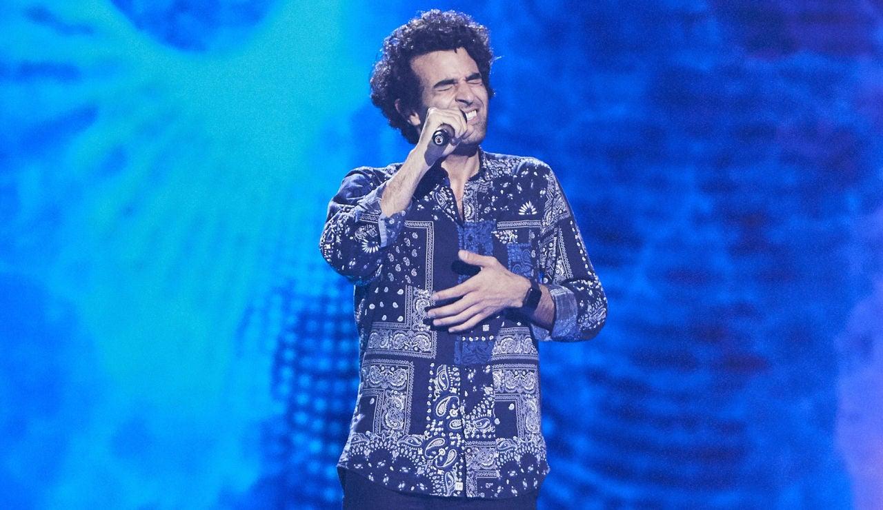 Kiumars Vahedi canta 'Fix you' en las Audiciones a ciegas de 'La Voz'