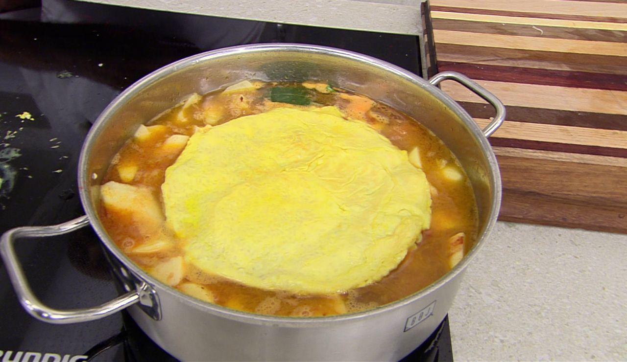La tortilla de arroz que complementa tus guisos