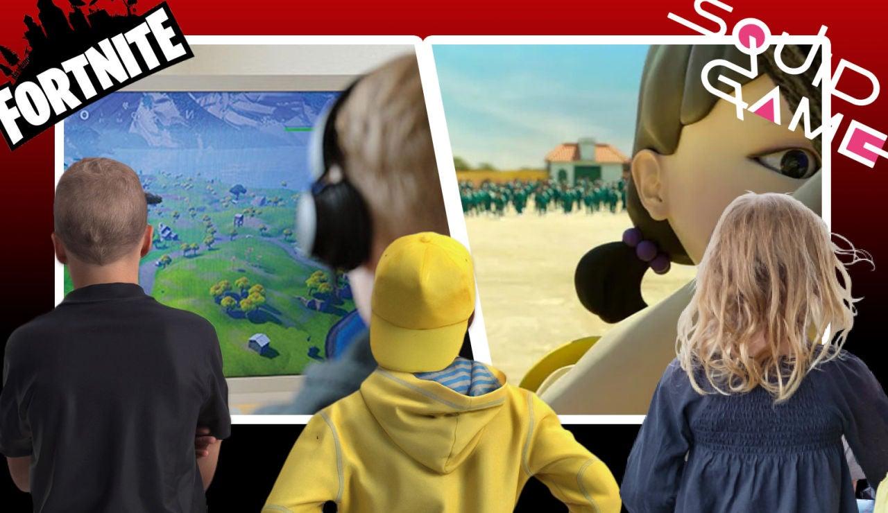 ¿Pueden ver mis hijos la serie 'El juego del Calamar' y jugar al 'Fortnite'? Esto es lo que dicen los psicólogos