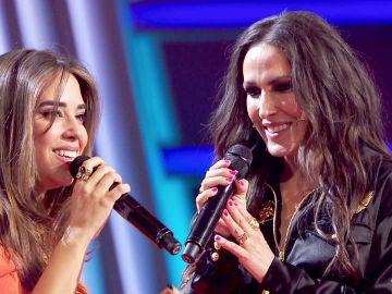 Malú canta el tema 'Háblame' con Laura Díaz en 'La Voz': ¡un sueño cumplido!