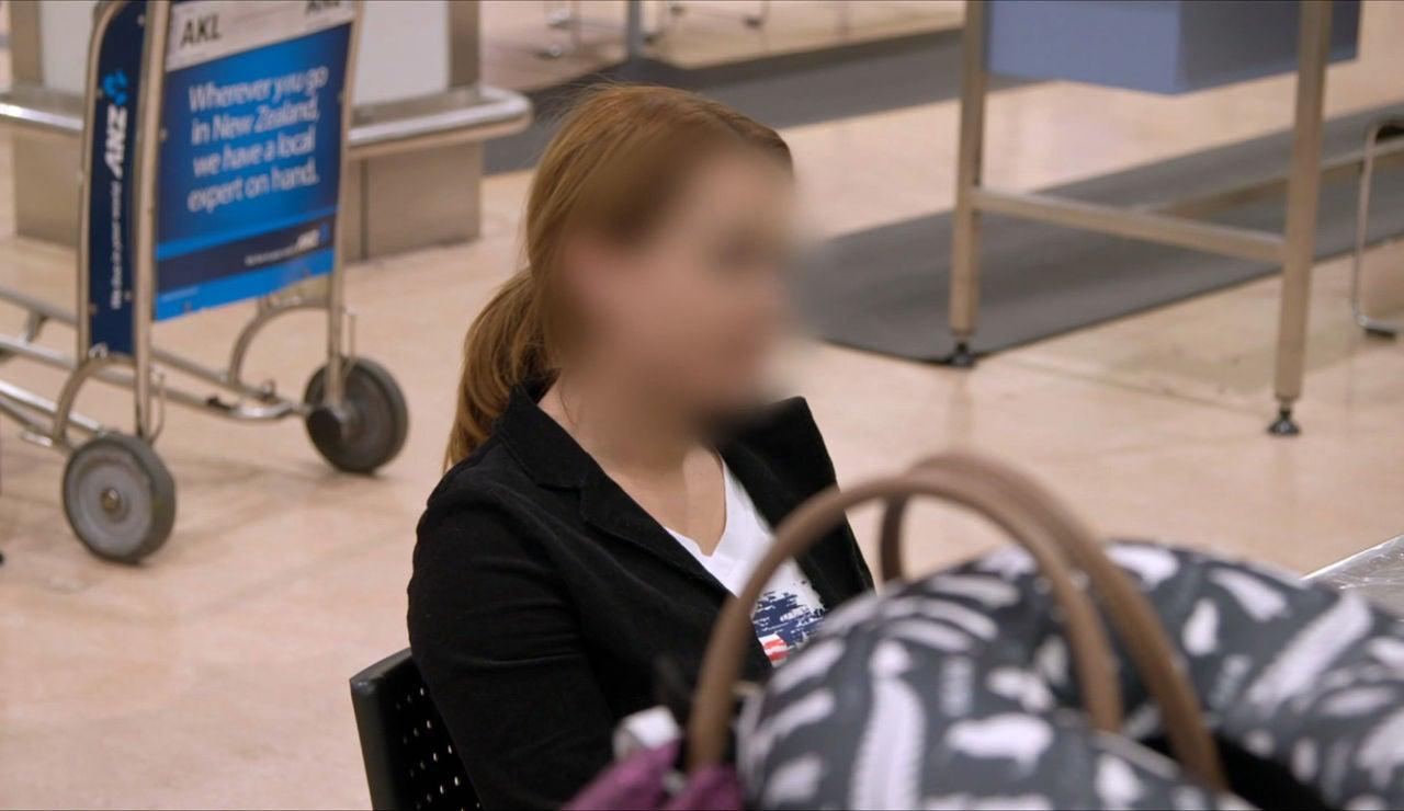 Interrogada en el aeropuerto de Auckland