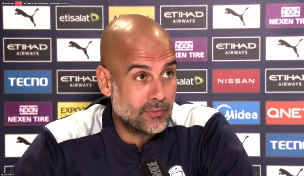 Pep Guardiola se moja sobre la compra del Newcastle y comunica que Ferran Torres estará de baja entre 2 y 3 meses