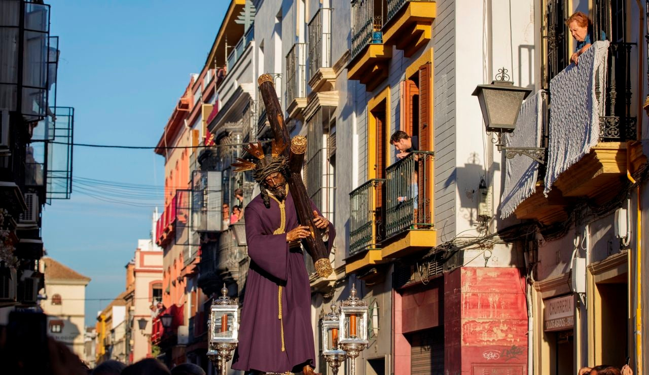 Procesión en Sevilla del Gran Poder