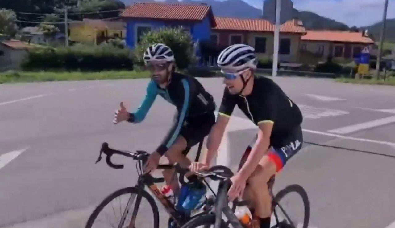 Alejandro Paleo llega a Dinamarca tras recorrer más de 2.800 km en bici en 13 días para evitar el cierre de su empresa