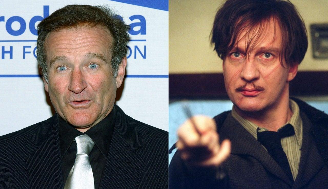 Robin Williams y Remus Lupin en 'Harry Potter'