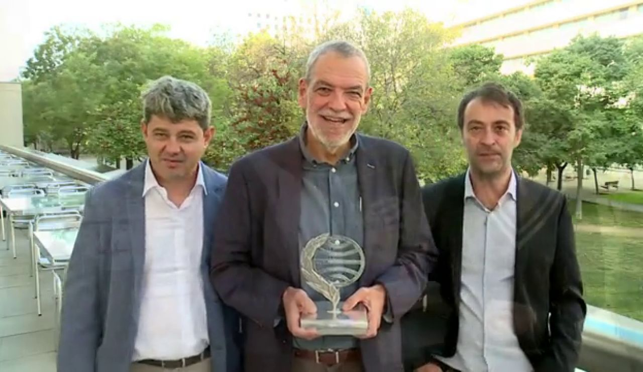 Jorge Díaz, Agustín Martínez y Antonio Mercero